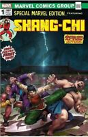 SHANG CHI 1 - DERRICK CHEW LTD HOMAGE VARIANT MARVEL SPECIAL EDITION 15 PREORDER
