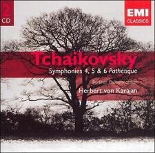 TCHAIKOVSKY: SYMPHONIES 4, 5 & 6 (NEW CD)