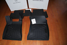 Mercedes Benz All Weather Mats Front and Rear Floor liner EV B class