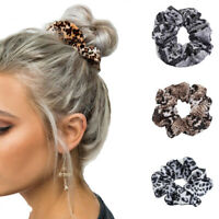 2PCS Women's Hair Scrunchies Bow Hair Ties Ring Rope Ponytail Holder Accessories