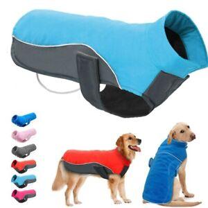 Dog Coat Winter Pet Dog Clothes Jacket Waterproof Puppy French Bulldog Chihuahua