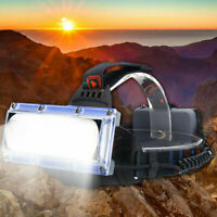 990000LM LED USB Rechargeable Headlamp Headlight Fishing Torch Flashlight Lamps