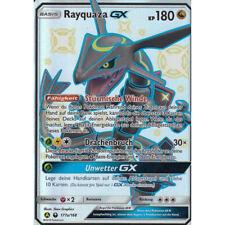 Pokemon Karte - Rayquaza GX - 177a/168 Sturm am Firmament - Shiny, NM