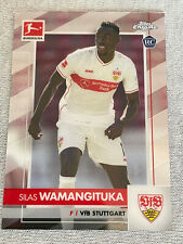 Topps Chrome Bundesliga Card 2020/21 2021  Stuttgart Silas Wamangituka Rookie RC