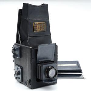 Graflex Series B Large Format SLR w/Kodak No. 32 Anastigmat 6 3/8 in. F/4.5 Lens