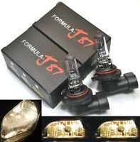 Halogen 9006 HB4 55W 3800K Stock Two Bulbs Fog Light Stock Plug Play Replace OE
