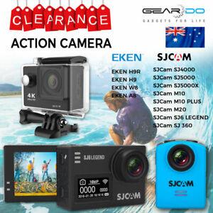 New Wifi 4K Action Sports Camera Video Record Waterproof Eken SJCam Genuine