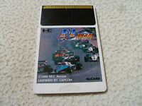 JAPAN IMPORT PC ENGINE HU CARD GAME ONLY F-1 DREAM HE SYSTEMS CAPCOM 1989 NEC >>
