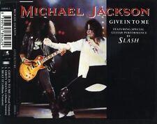 MICHAEL JACKSON Give In To Me RARE AUSTRALIAN CD Single