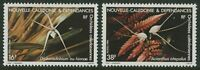 NEW CALEDONIA: ORCHIDS 1984 - MNH SET OF TWO (G21-PB)