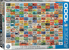 Eurographics Jigsaw Puzzle The VW Groovy Bus 1000 Pieces
