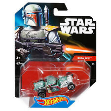 Mattel Hot Wheels Star Wars 1:64 Scale Die-cast BOBA FETT Character Car (DTB09)
