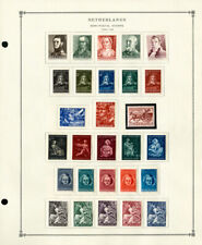 Netherlands Clean 1941 to 2001 Nice Mint & Used Semis Stamp Collection