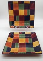 Table Top Gallery Set Of Two Dinner Plates ( Caracas)