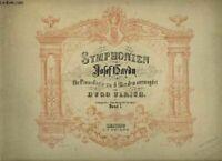 SYMPHONIEN F_R PIANOFORTE ZU 4 H_DEN ARRANGIRT - BAND 1.