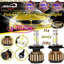 4-Side Hi/Lo Bi H4 Hb2 9003 980W 147000Lm Led Car Headlight Kit Bulb 6000K Power(Fits: Isuzu)