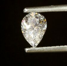 GIA certified loose .46ct SI2 I pear shape diamond estate vintage antique