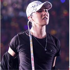 KPOP BIGBANG GD Long Strap Ball Cap G-Dragon Hat White Graffiti Fashion New