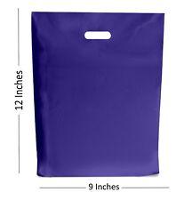 100 - azul marino Bolsas de plástico/Regalo Tienda Bolsa - 22.9x30.5cm
