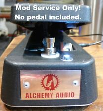Upgrade your Dunlop Cry Baby Wah - Complete! Mod Service Only! Alchemy Audio