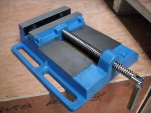150 mm Maschinenschraubstock Schraubstock Bohr /& Fräsmaschine Tischbohrmaschine