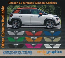 Citroen Aircross Window Sticker Kit decals -  Choose any colour