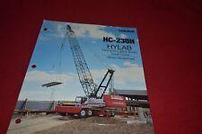 Link Belt HC-238H Crane Dealer's Brochure DCPA6 ver2