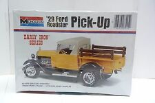 MONOGRAM EARLY IRON SERIES '29 FORD ROADSTER PICK-UP 1/24 #7555 MODEL KIT SH1D