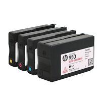 4-PACK Genuine Setup Ink Cartridge Officejet pro 8610 Fits HP950 951 950XL 951XL