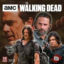 The Walking Dead Official 2019 Wall Calendar New & Sealed