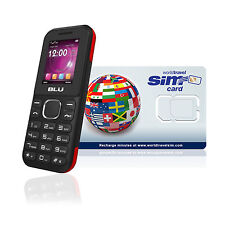 International Cell Phone Z3 - UK and US number. $10.00 airtime credit