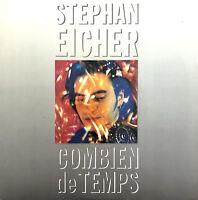 """Stephan Eicher 7"""" Combien De Temps - France (EX/EX)"""