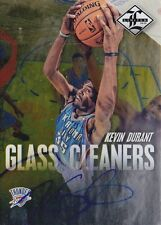 2012-13 Limited Glass Cleaners Autograph Kevin Durant /49 Warriors
