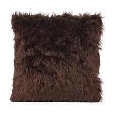 "18"" Fur Plush Throw Pillow Case Home Decor Sofa Cushion Case Cover US STOCK"