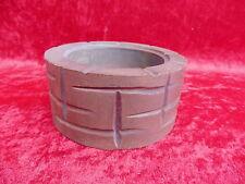 Bel pozzo __ legno scolpito __ per mangiatoia __ diametro 12,8cm _