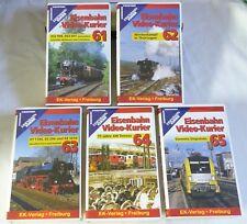 VHS ferrocarril video mensajero 5 gastos 61 hasta 65 contenido ver fotos top OVP