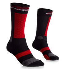 RST Tractech Black Red Motorbike Motorcycle sock Gift Idea
