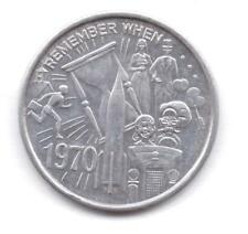 REMEMBER WHEN-1970-BACCHUS-MARDI GRAS-NEW ORLEANS-TOKEN-ONE 1/2 INCHES WIDTH