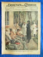 La Domenica del Corriere 15 gennaio 1922 Regina Elena - Canale Panama - Einstein