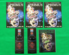 Primus Vintage Sticker & Post Card Lot 1990's Brown Album and Anti Pop Promo