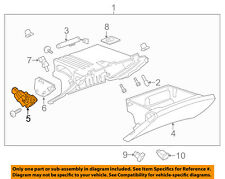 GM OEM Glove Compartment Box-Actuator 23436398