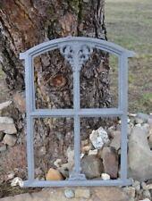 Eisenfenster alte Gartenmauer Sprossenfenster Stallfenster Gretje klappbar KK106