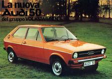 Brochure Depliant Audi NSU 50 1974 Italiano