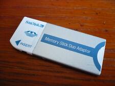 8GB Memory Stick PRO Duo , 8GB microSD + Duo Adapter , PRO