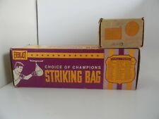 Vintage new Everlast Striking Bag 4216 Made in Usa with Swivel