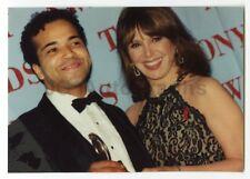 Marlo Thomas & Jeffrey Wright - 1994 Tony Awards Original Peter Warrack Photo