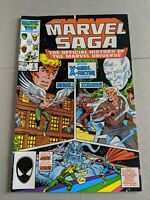 The Marvel Saga #5 April 1986 Marvel Comics Spider-Man JOHN ROMITA SIGNED Auto