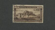 1949 Italy Roman Republic Centenary The Vascello, Rome Postage Stamps #518