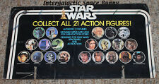 Kenner Star Wars 21 Back Store Display Boba Fett Collect 21 Header Card