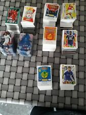 PANINI Ligue 1 ; EURO 2020 ; TOPPS Match attax ( Lot de 500 CARTES sans doubles)